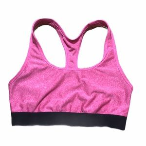 Hanes Sport Pink Sports Bra Size L